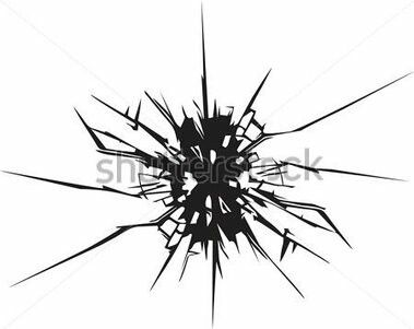 Clipart cracked mirror.