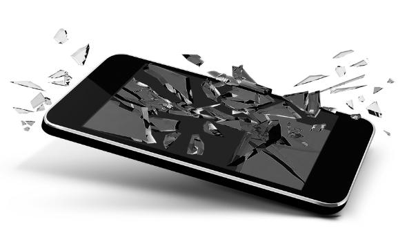 Broken Phone Clipart#2150567.