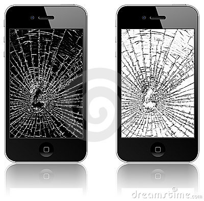 Broken Phone Clipart#2150573.