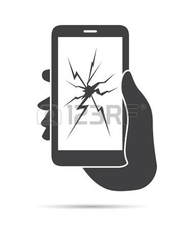 303 Phone Cracked Cliparts, Stock Vector And Royalty Free Phone.