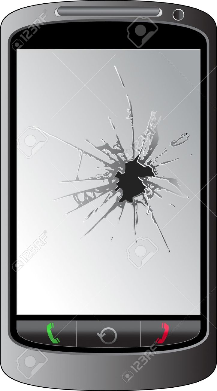 1,349 Broken Phone Stock Illustrations, Cliparts And Royalty Free.