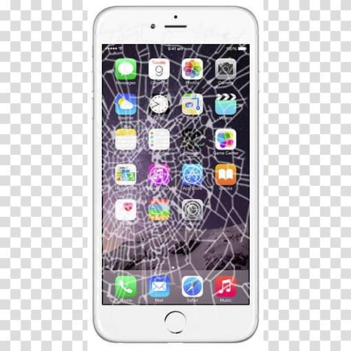 IPhone 4S iPhone 6s Plus iPhone 5c, broken screen phone.
