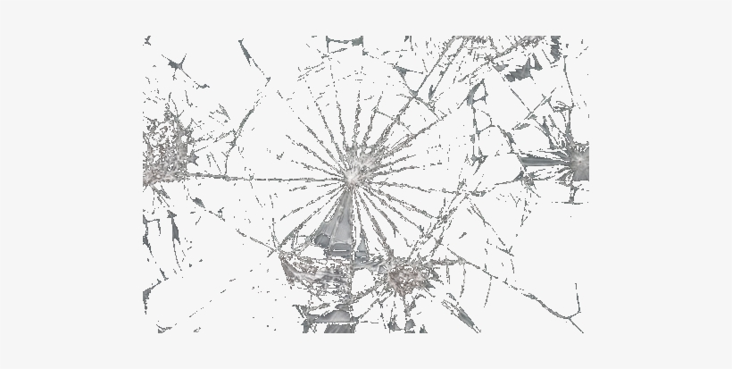 Damage Glass Png Image Background.