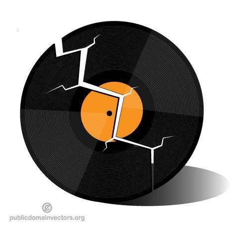 Broken record clipart 5 » Clipart Portal.