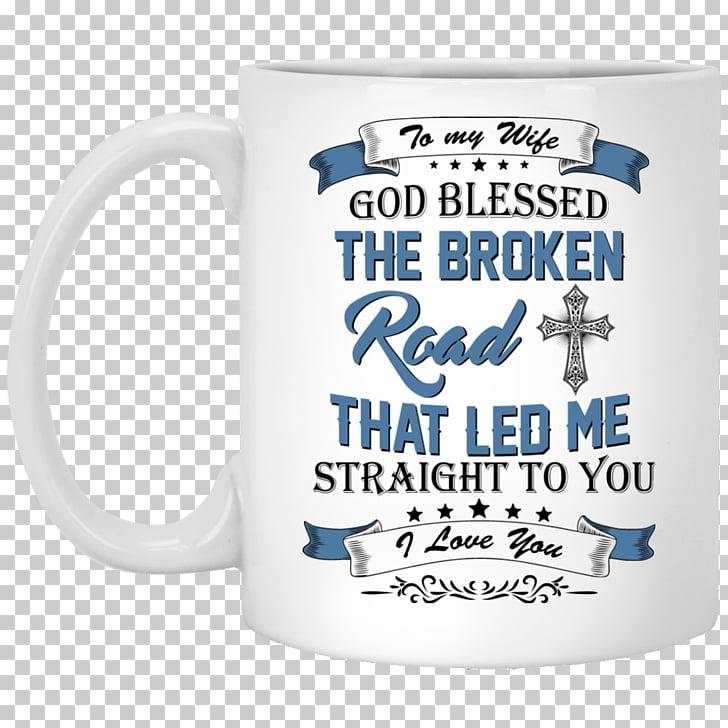 Mug Bless the Broken Road Coffee cup Morty Smith, mug PNG.