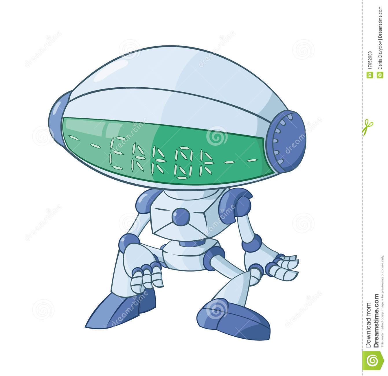 The Broken Robot Royalty Free Stock Photos.