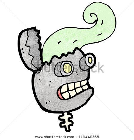 Broken Robot Cartoon Stock Vector 116440768.