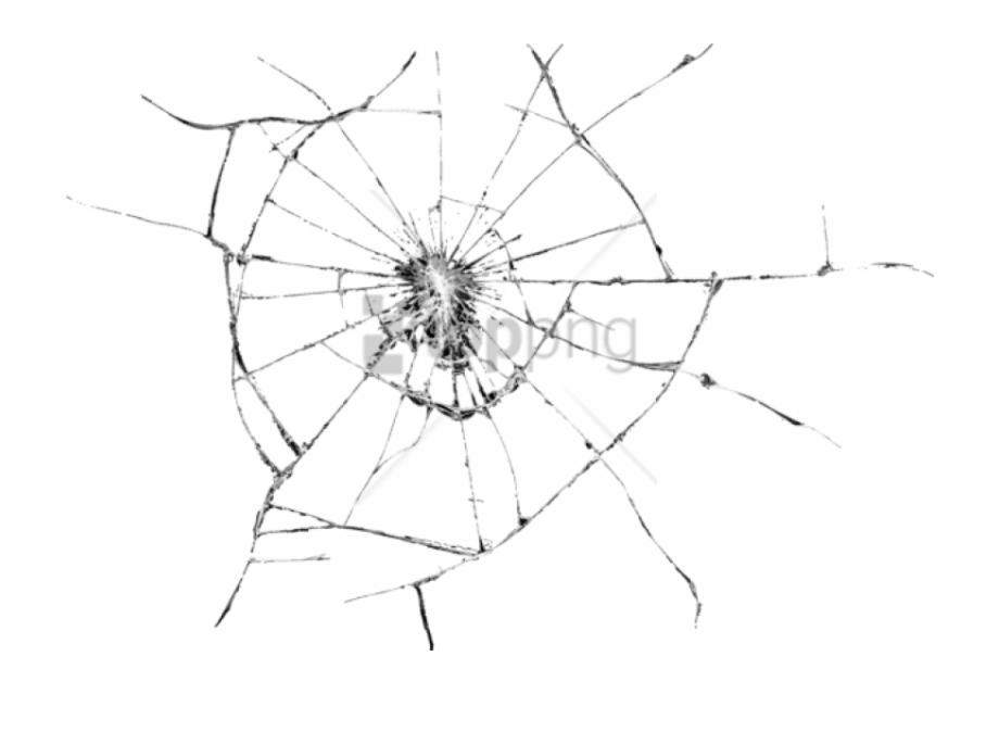 Cracked Screen Transparent Png.