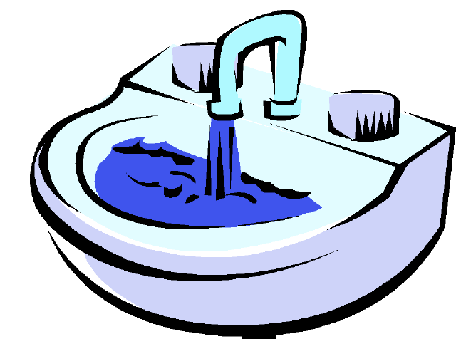 1285 Sink free clipart.