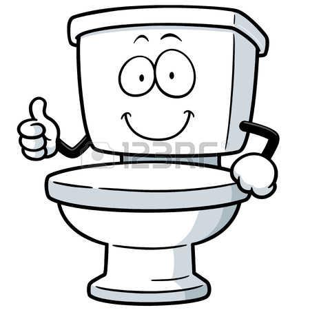 Toilet Flush Clip Art