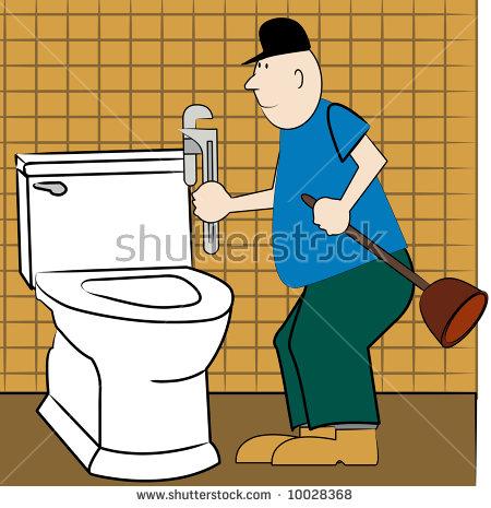 Broken Toilet Stock Images, Royalty.