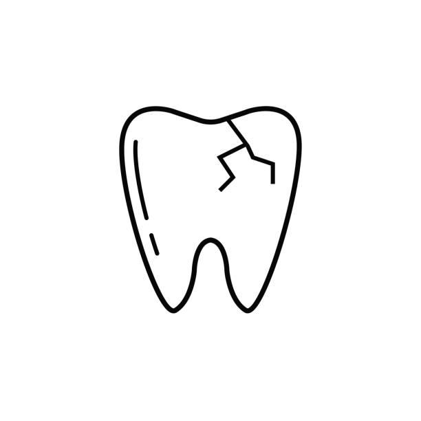 Best Broken Tooth Illustrations, Royalty.