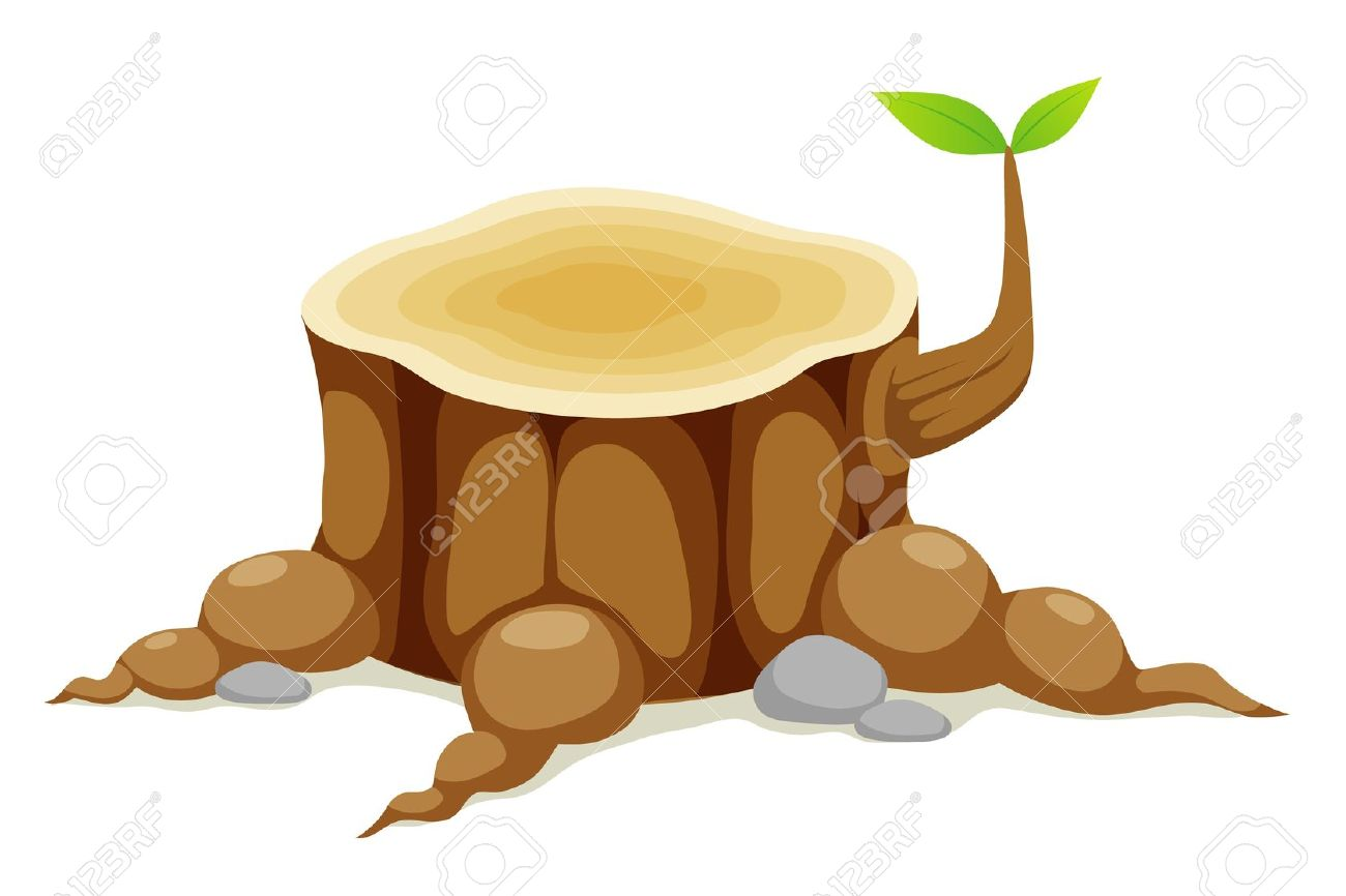 Tree Stump Grinding Clip Art.