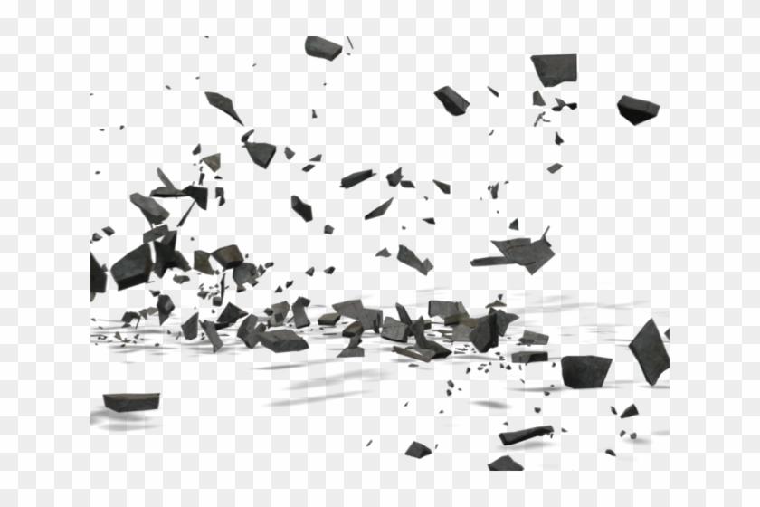 Stone Wall Clipart Broken Rock, HD Png Download.
