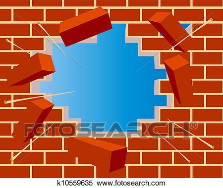 Broken wall clipart » Clipart Portal.