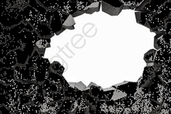 Broken Wall Material, Broken Wall, Wall, Damaged PNG Transparent.