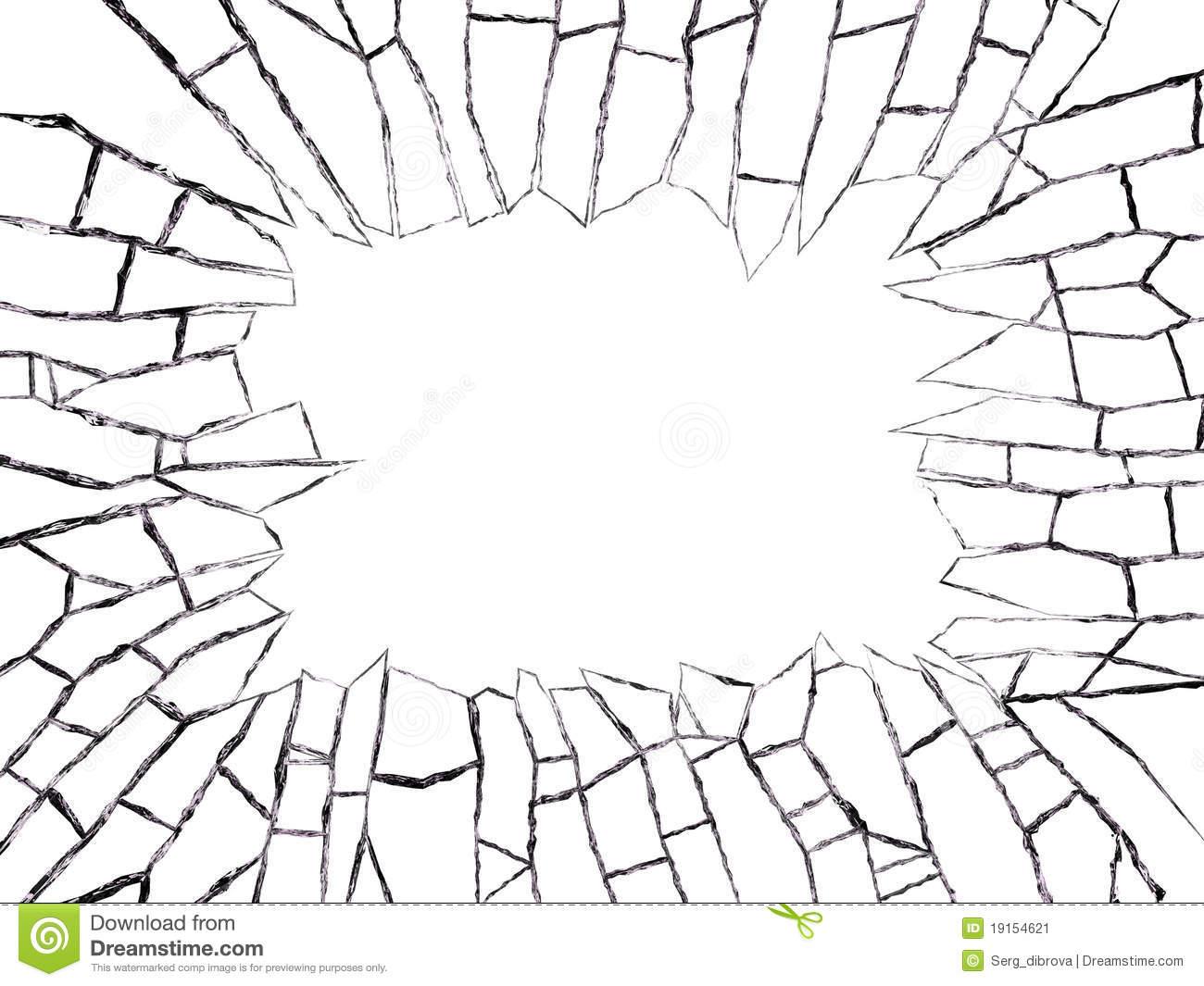 broken windows clipart