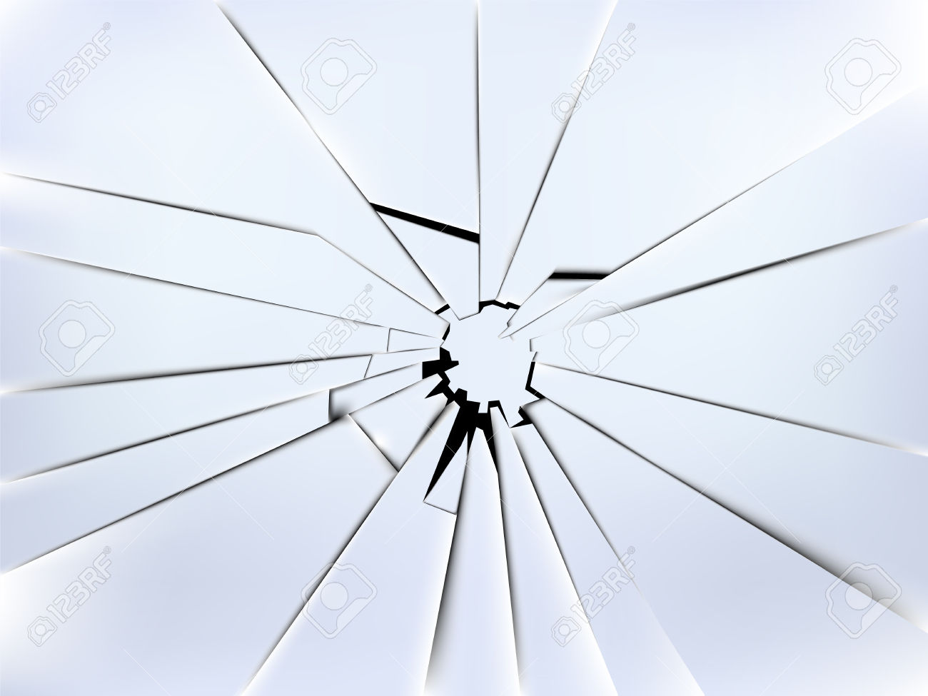 Broken Window Clipart.