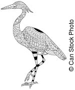 Brolga Clip Art Vector Graphics. 1 Brolga EPS clipart vector and.