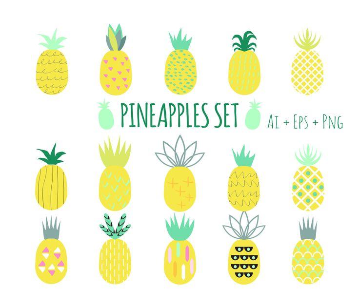 Meer dan 1000 ideeën over Pineapple Clipart op Pinterest.