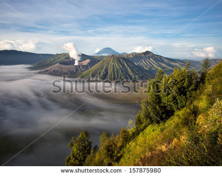 Vector Images, Illustrations and Cliparts: Gunung Bromo, Mount.