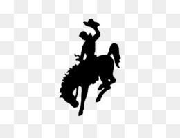 Bronc Riding PNG.