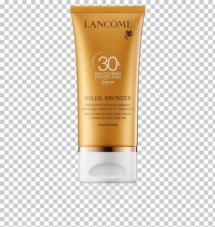 Loción de protección solar lancôme perfume bronceador solar.
