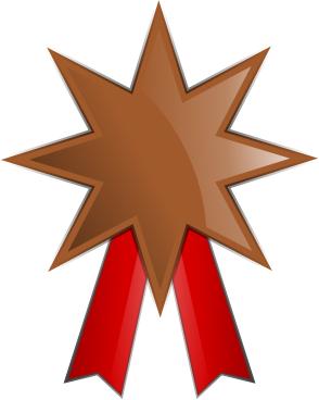 Bronze Medal Clipart.