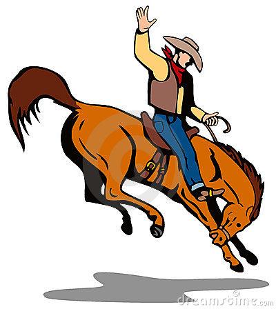 Bronco Stock Illustrations.