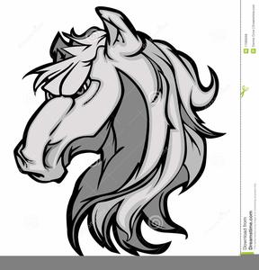 Free Bronco Logo Clipart.