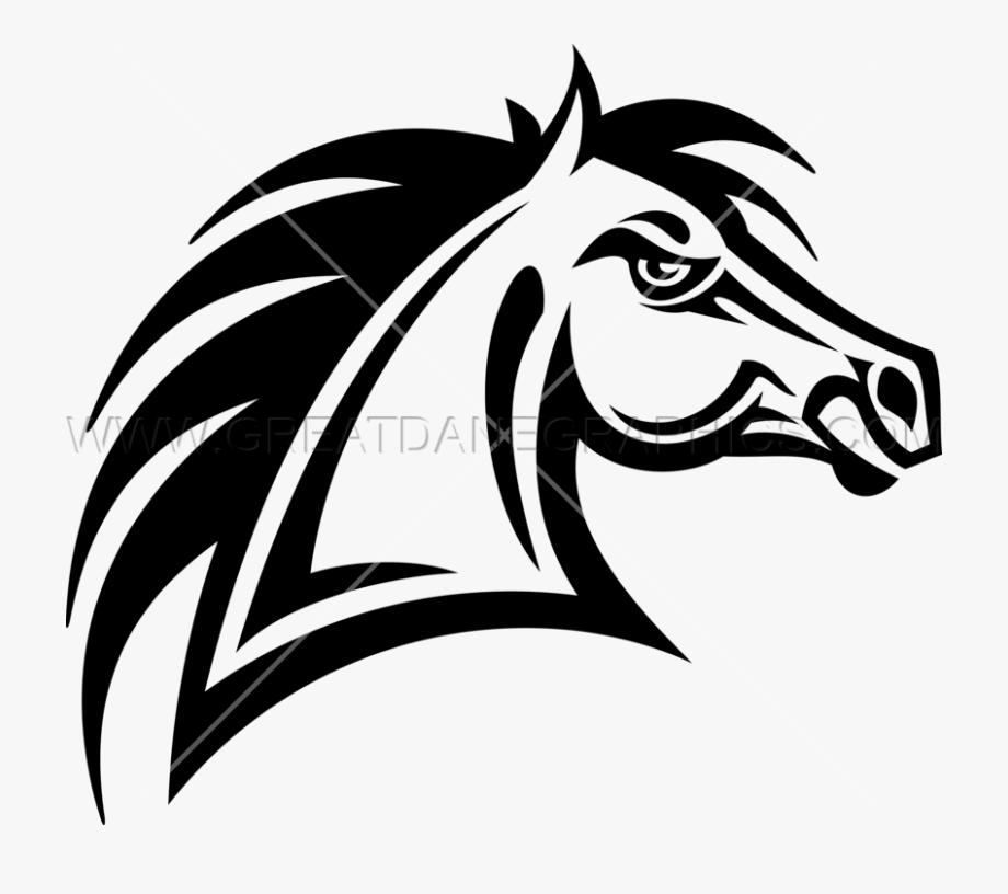 Bronco Vector Horse Heraldry.