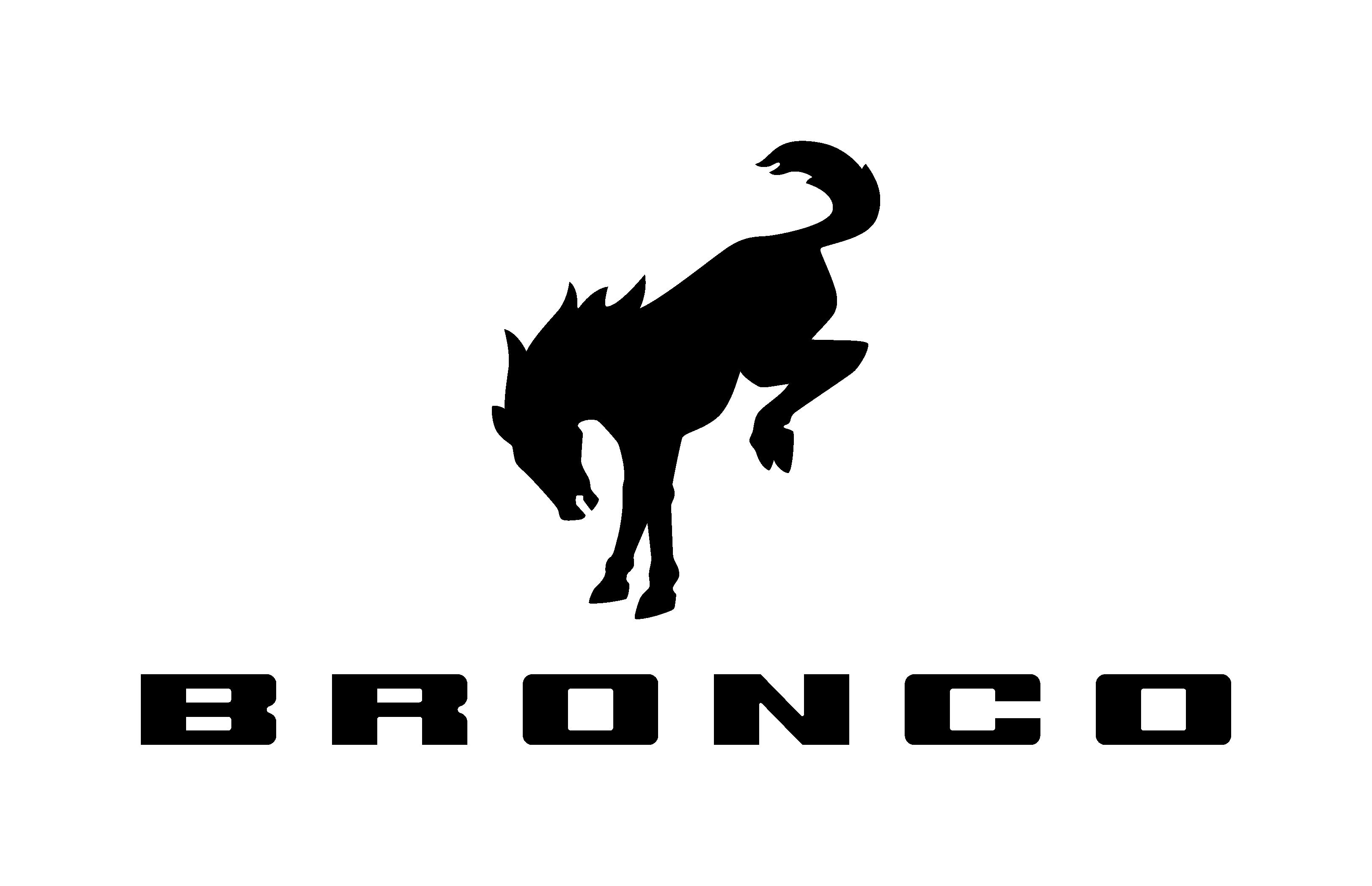 New Ford Bronco Logo.