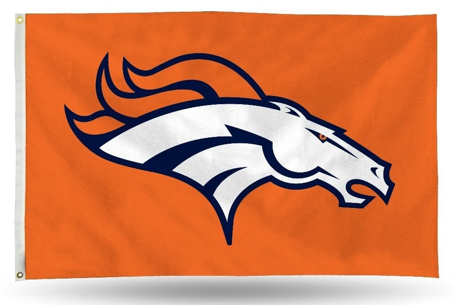 Details about Denver Broncos LOGO Rico 3x5 Flag w/grommets Outdoor House  Banner Football.