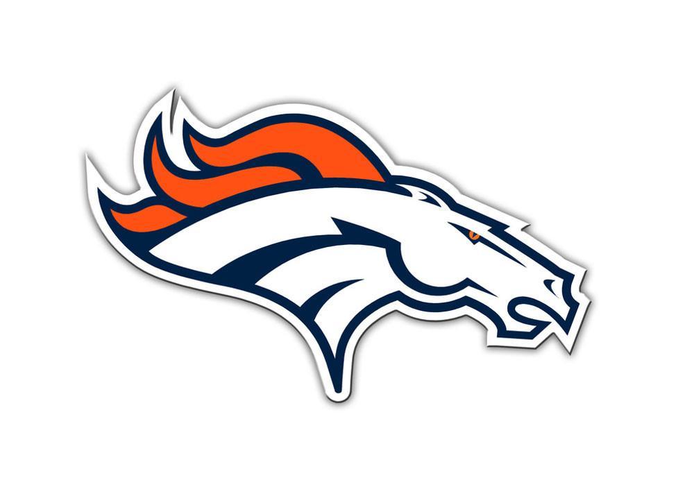 Denver Broncos Logo Car or Truck Large Magnet.