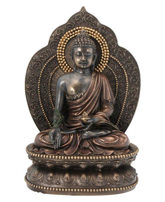 Medicine Buddha or Amitabha is the Buddha of infinite light.