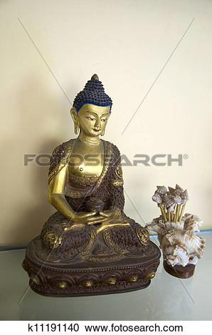 Stock Photography of Amitabha Buddha Five k11191140.