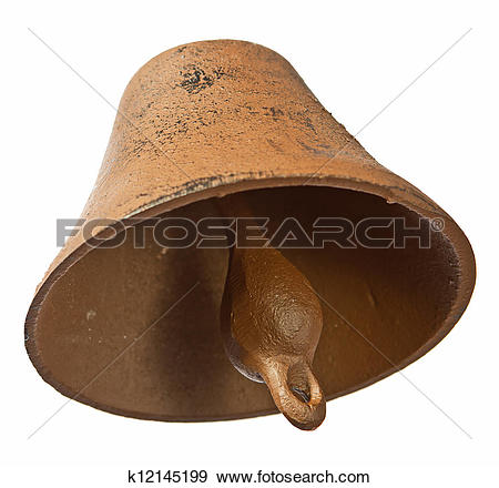Stock Photograph of Bronze bell k12145199.