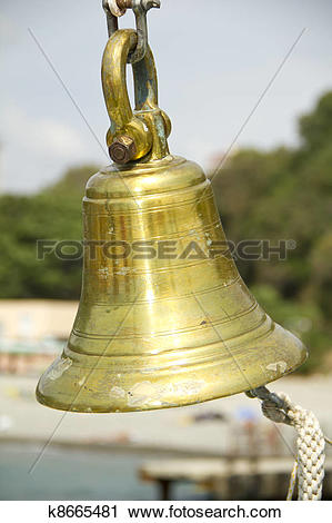 Stock Photography of bronze ship's bell k8665481.