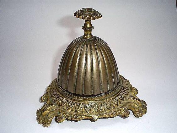 Fine antique ornate hotel reception/shop counter or desk brass.