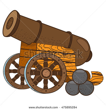 Army Arsenal Cannon Old Stock Photos, Royalty.