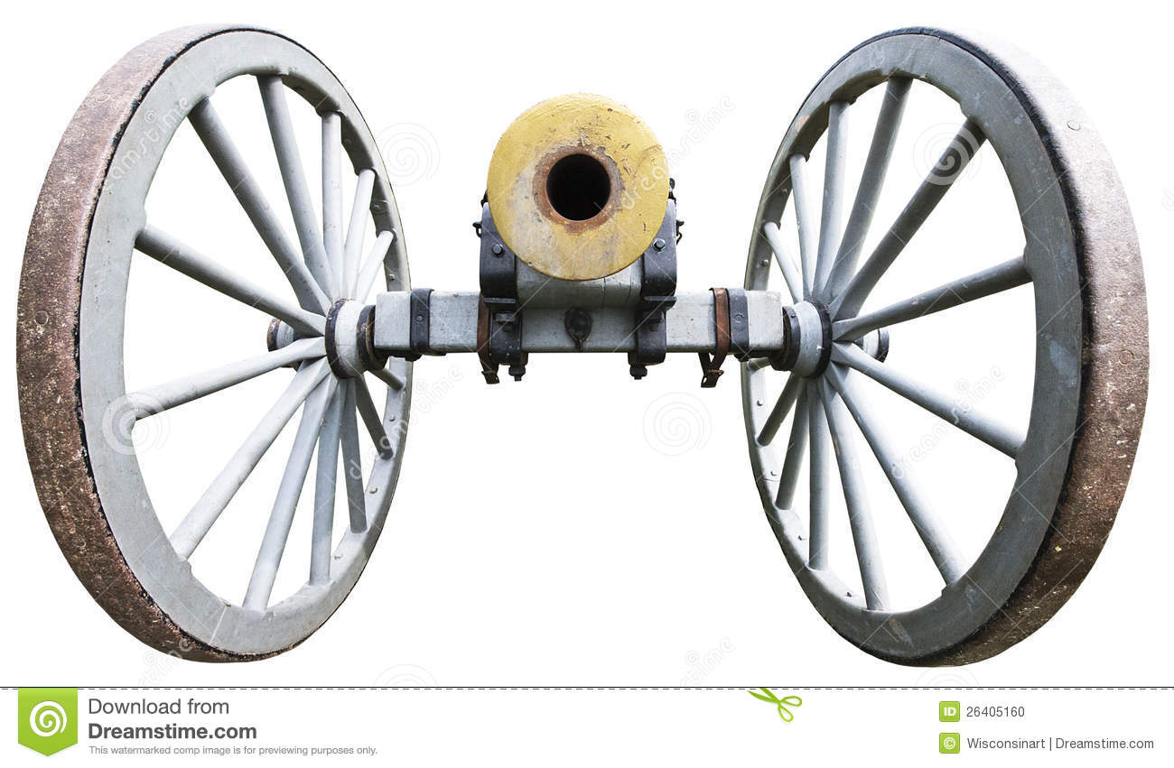 Antique Cannon Royalty Free Stock Images.