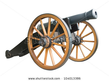 Old Cannon Eps10 Stock Vector 98103383.