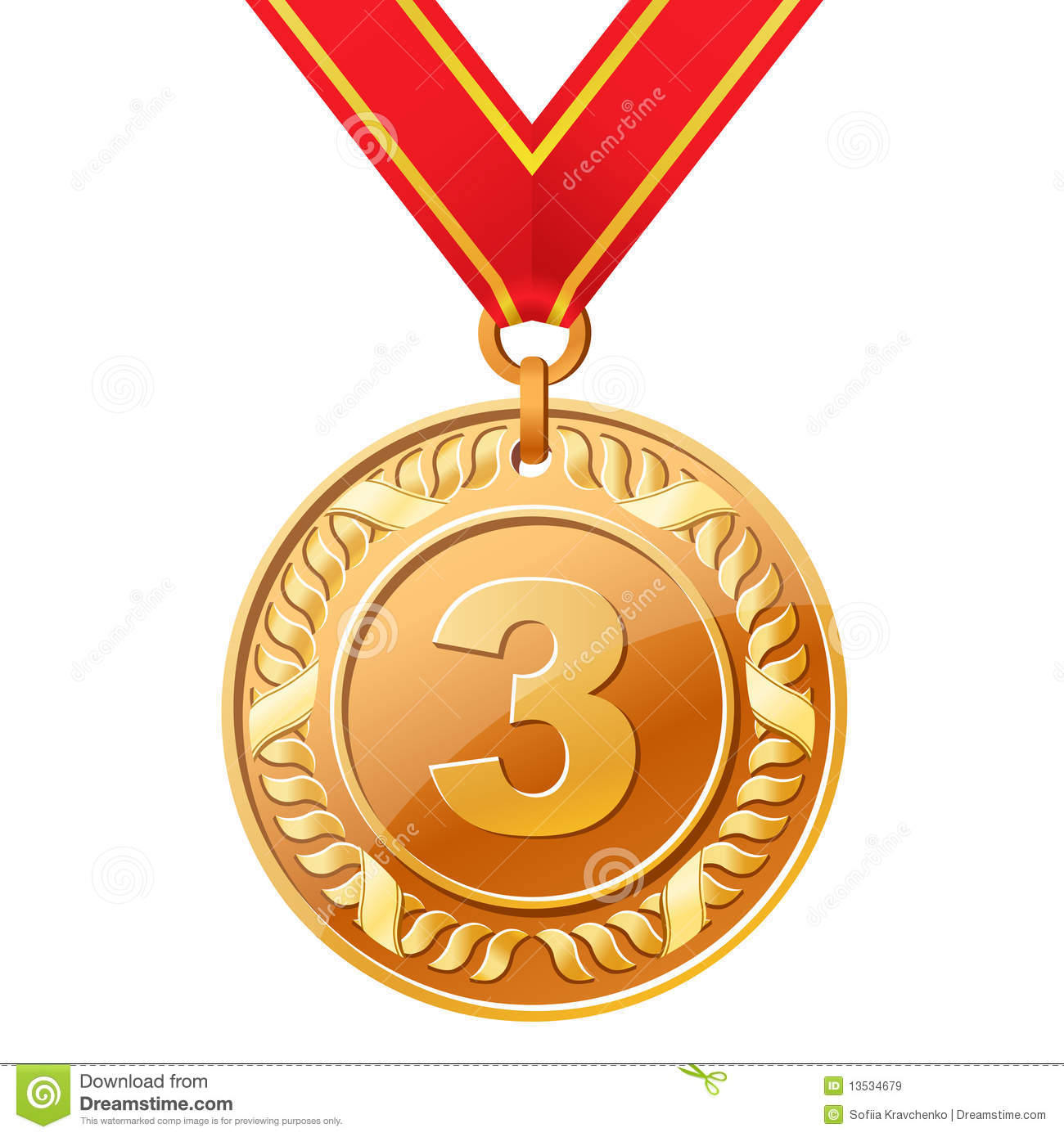 Bronze medal clipart - Clipground