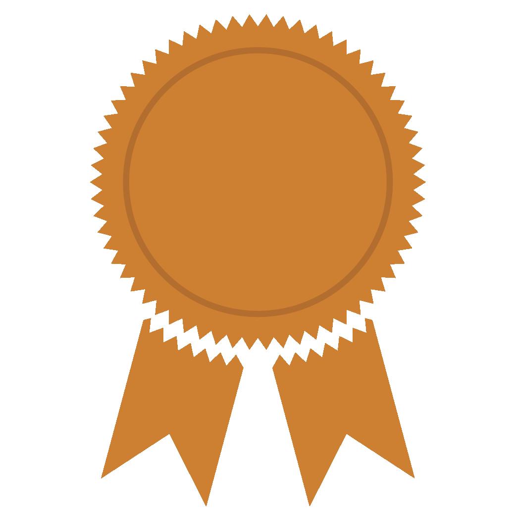 Bronze Medal PNG Image.