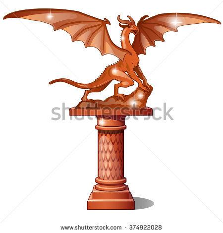 Bronze Statue Stock Vectors & Vector Clip Art.