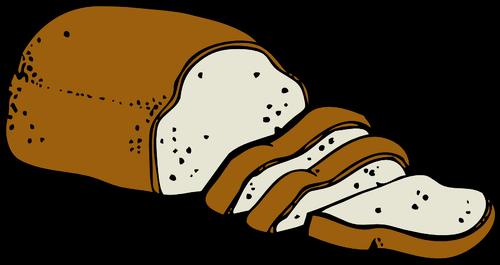 Brood van brood vector.
