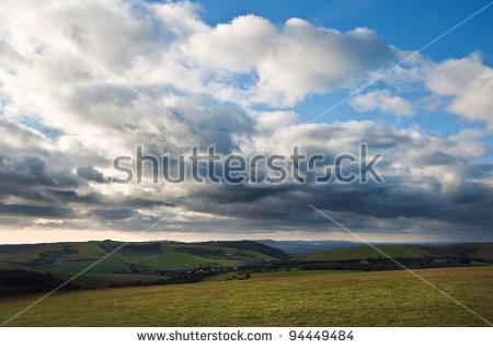 Brooding Sky Stock Photos, Royalty.