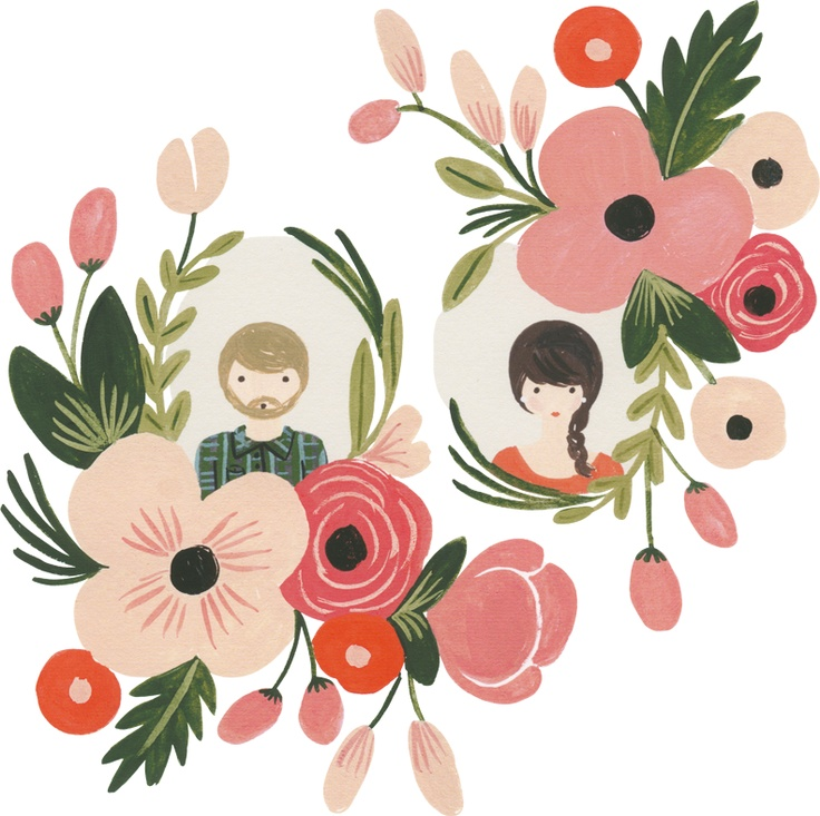 Rifle paper co clipart.