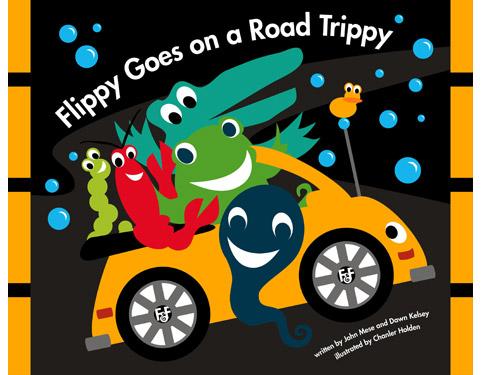 Brooke Shields' Rowan Loves Flippy and Friends.