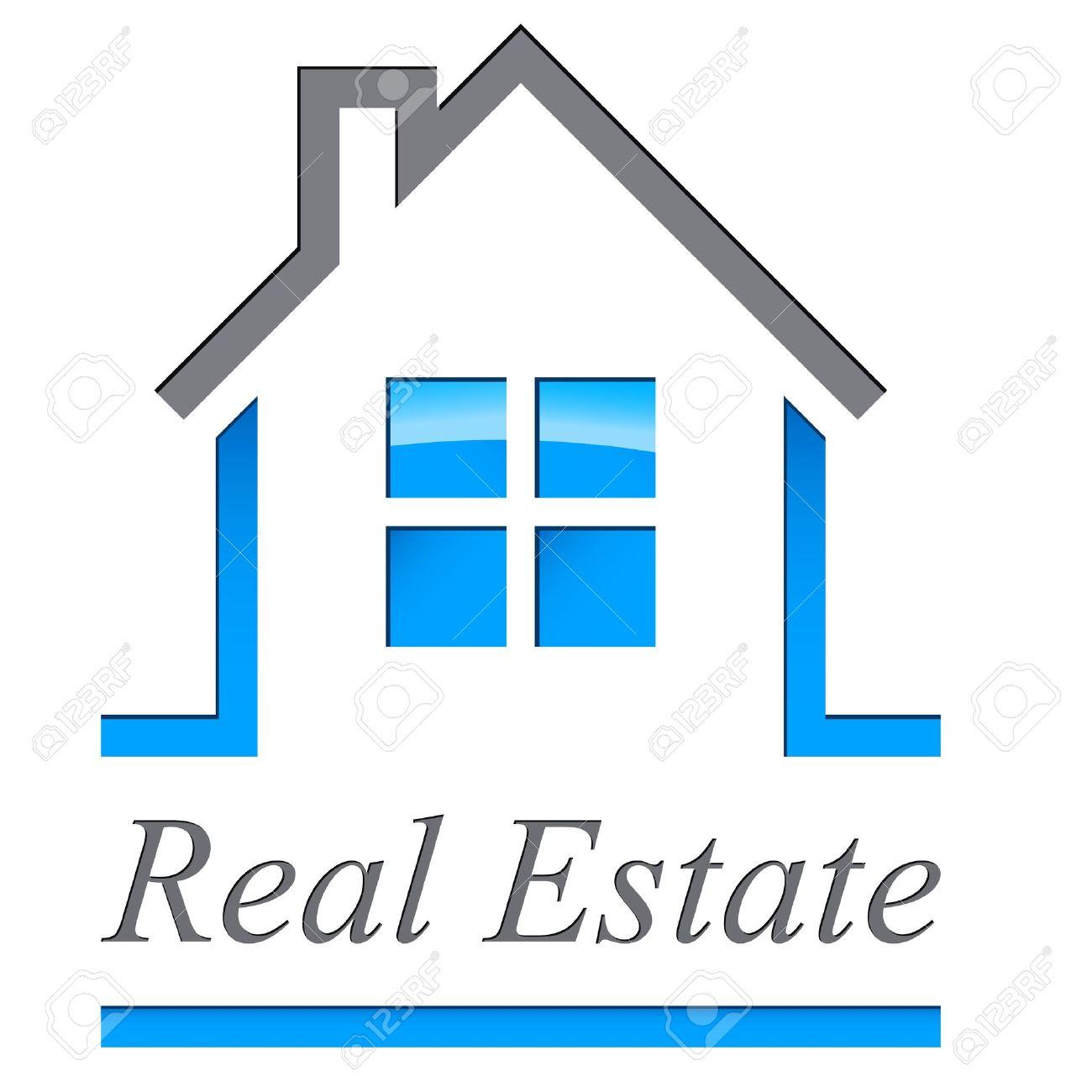 Real estate broker clipart.